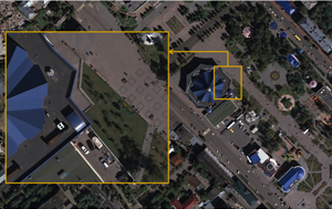 Digital orthophoto (aerial camera ADS40)