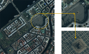 Digital orthophoto (aerial camera DMC)
