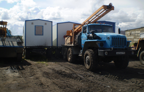 Heavy cross-country vehicles for survey in the Far North